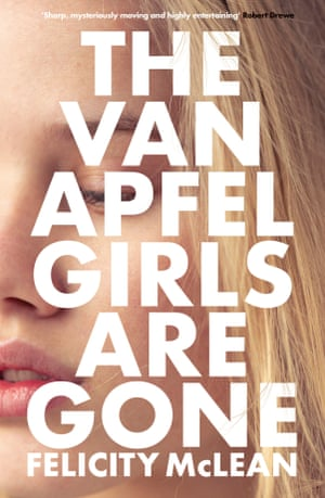 Book cover of The Van Apfel Girls are Gone by Felicity McLean