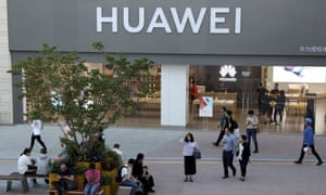 Huawei denounced Donald Trump's ban on the sharing of US tech with 'foreign adversaries'.