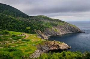 The north tip of Cape Breton island Nova Scotia