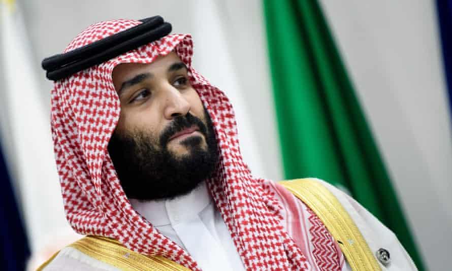 Saudi Arabia's Crown Prince Mohammed bin Salman in Osaka in 2019.
