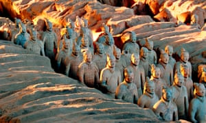 The Terracotta Army, Qin dynasty (221-206 BCE).