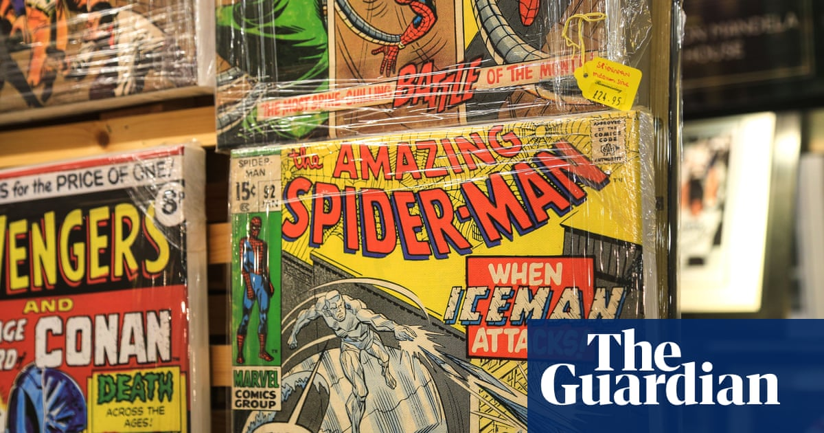 Why are comics shops closing as superheroes make a mint