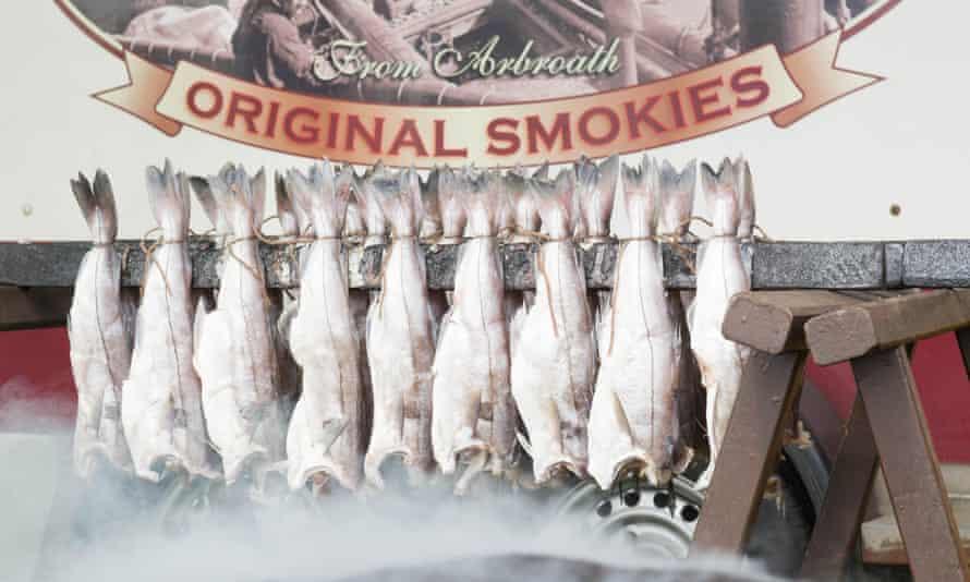 Arbroath Smokies - a type of smoked haddock.