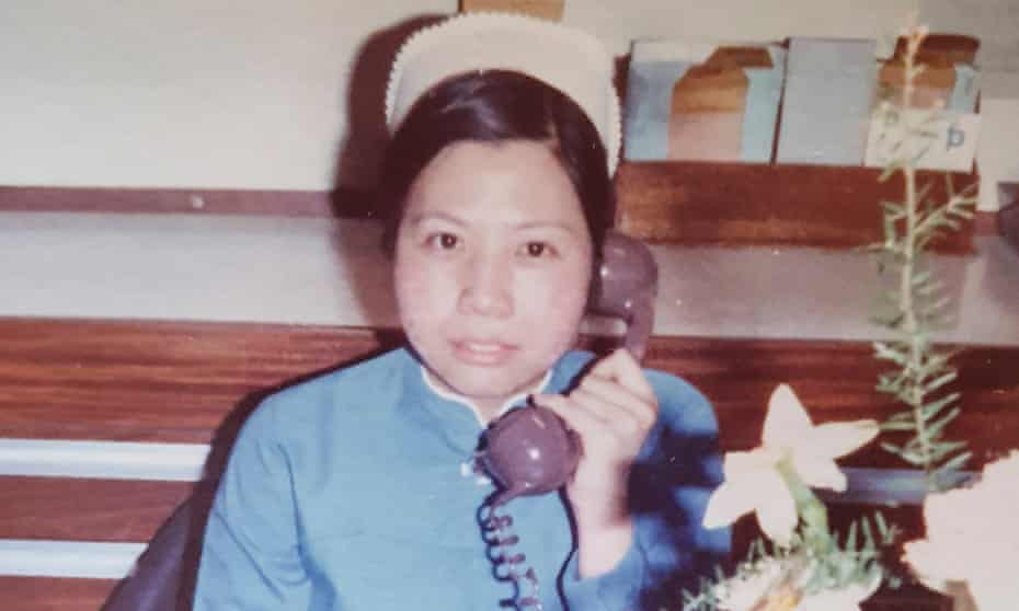 NHS nurse Alice Kit Tak Ong, who died aged 70 on 7 April. She was still working full-time when she became ill.