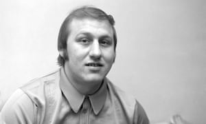 Ronnie Russell, a former heavyweight boxer, pictured in 1974.