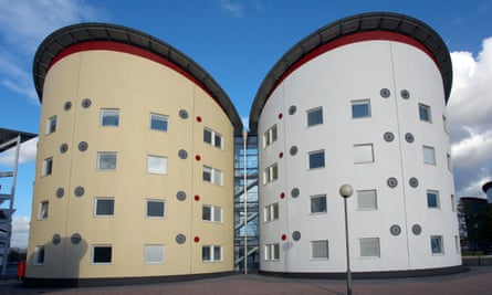 Student accommodation at the University of East London.