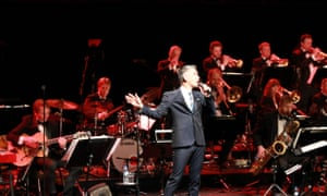 Class act … Curtis Stigers with the Danish Radio Big Band