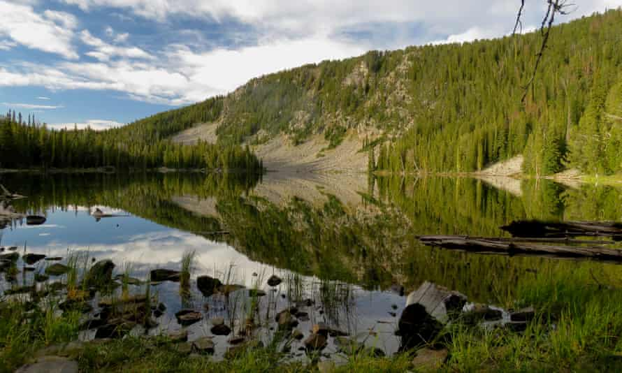 Stone Lake in the West Pioneer wilderness study area. WSAs are 'wilder than half of all national parks'.