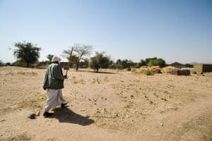 Village headman Mahamat Khatir Idriss