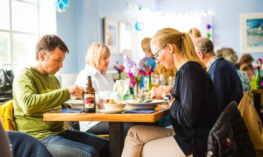 Cafe Fish, Isle of Mull