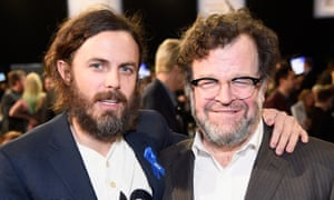 Casey Affleck and director Kenneth Lonergan at the Independent Spirit Awards in California in February.