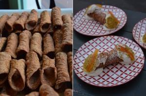 Cannoli, as the Sicilian make them.