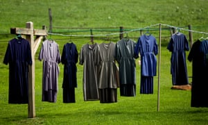 Clothing on a line