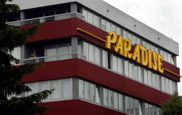 The Paradise club in Stuttgart