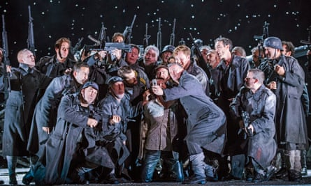 Il trovatore updated to the present, complete with selfies.