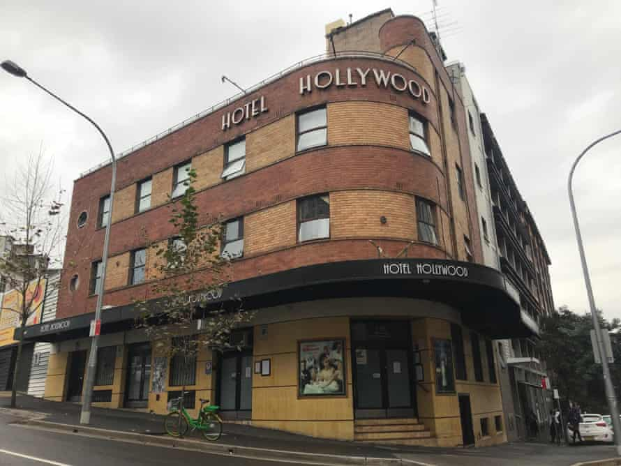 The Hotel Hollywood in Sydney's Surry Hills. The publican Doris Goddard has died.