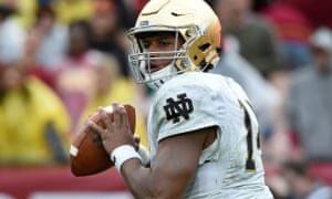 DeShone Kizer is projected to go in the first two rounds of the draft
