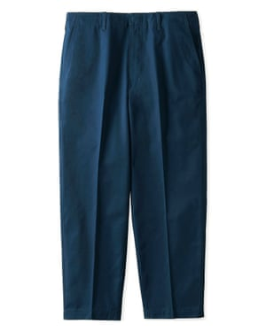 Cotton twill wide ankle length trousers, £34.90, uniqlo.com