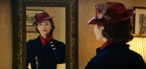 As Mary Poppins.