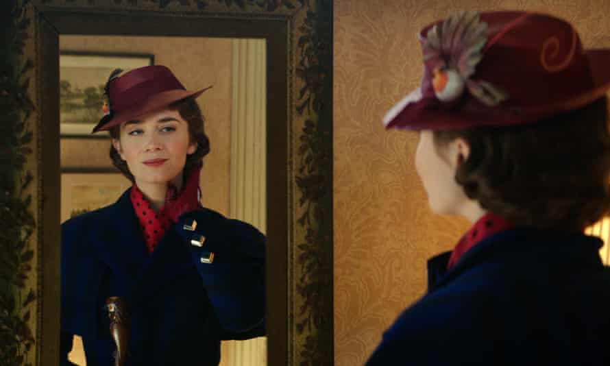 'I don't know if superheroes are for me' ... Emily Blunt in Mary Poppins Returns.