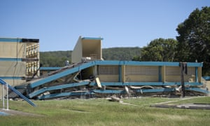 The Agripina Seda public school collapsed in Guánica collapsed in the earthquake.