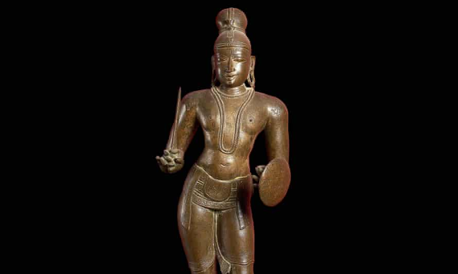 The sculpture of the revered Tamil poet-saint was apparently stolen from a temple in the 1960s.