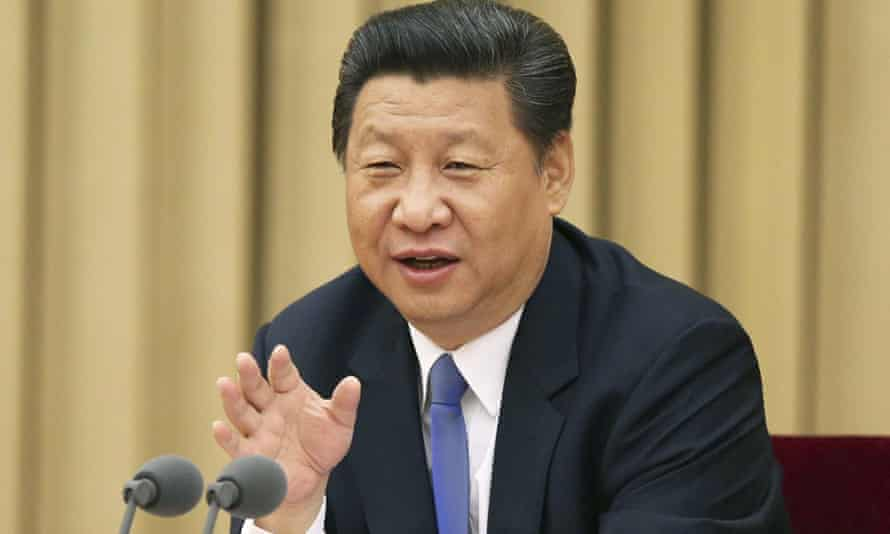 Chinese president Xi Jinping addresses a party meeting on uniting non-Communist Party groups and individuals. The government is asking domestic religious groups to pledge loyalty to the state.