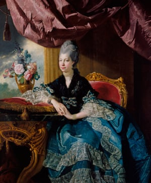 Queen Charlotte by Johann Joseph Zoffany (1771) from the Enlightened Princesses exhibition at Kensington Palace