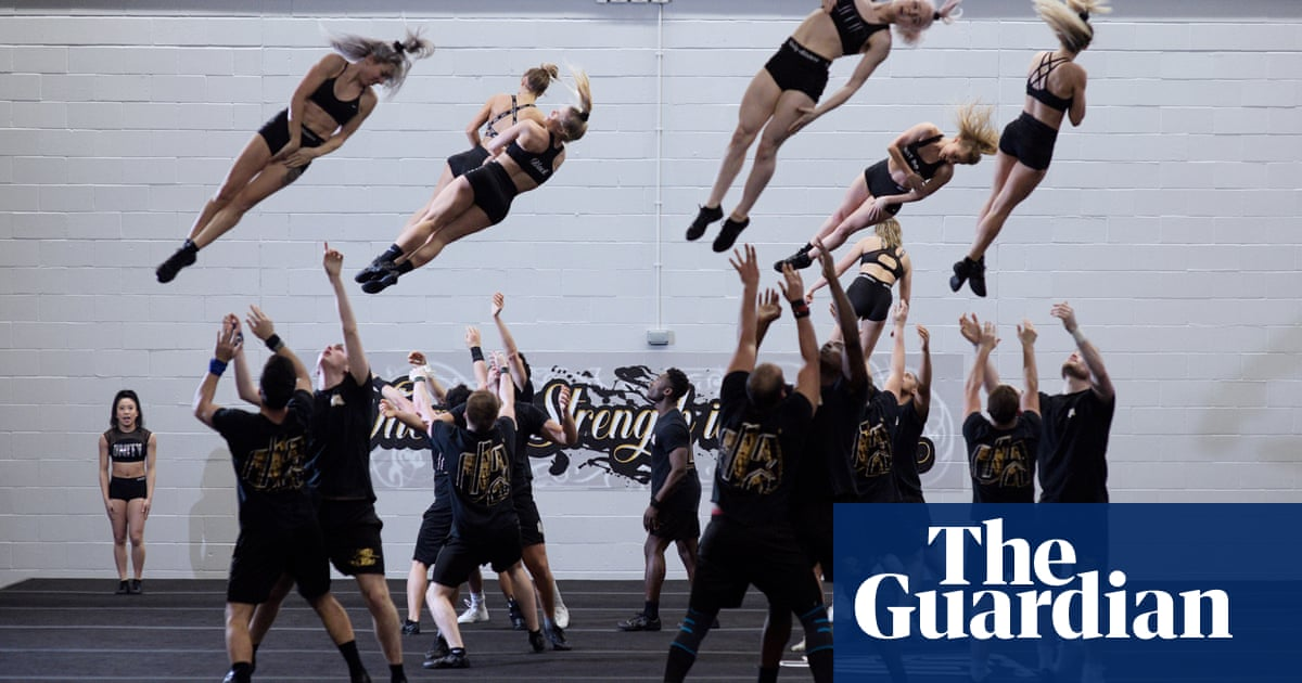 Its a hard and challenging sport: inside the world of competitive cheerleading