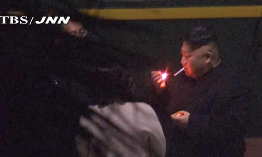 North Korean leader Kim Jong-un is known to be a heavy smoker but his regime has moved to ban smoking in public places.