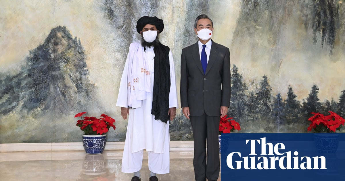 China to keep Kabul embassy open and 'beef up' relations, say Taliban