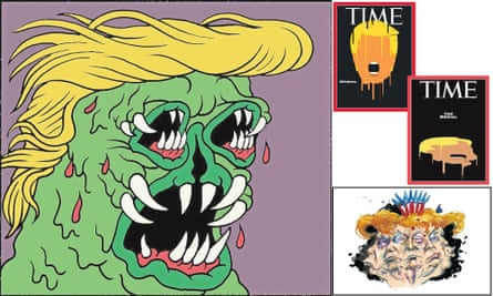 Trump composite images