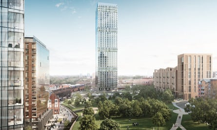 'Where glass meets grass and concrete meets conkers' … how MeadowSide will look.