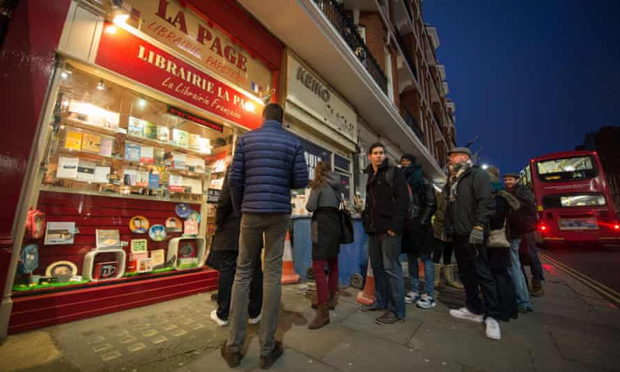 London newsagents sold out of last week's edition of Charlie Hebdo