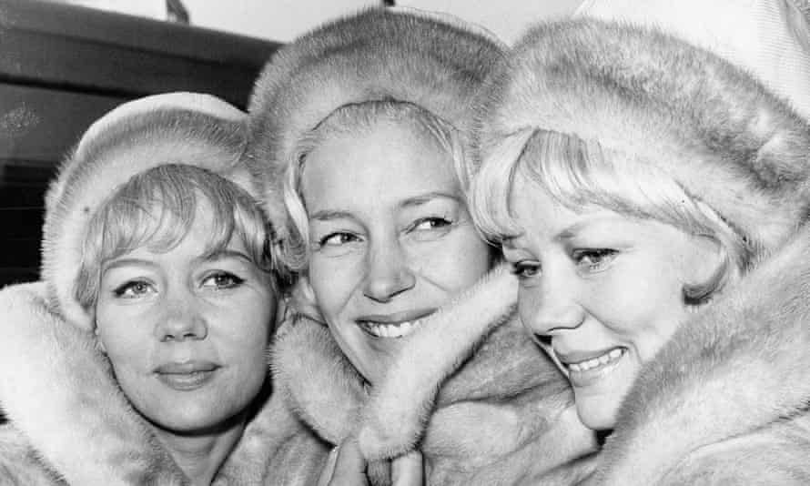 Babs Beverley, left, with her sisters Joy and Teddie in 1965, at the height of their fame.