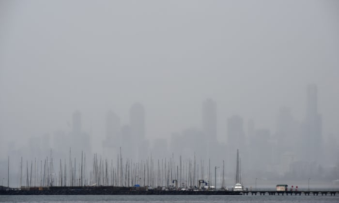 Melbourne weather: morning deluge proves underwhelming – as