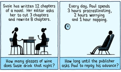 Tom Gauld on mathematical problems for novelists – cartoons
