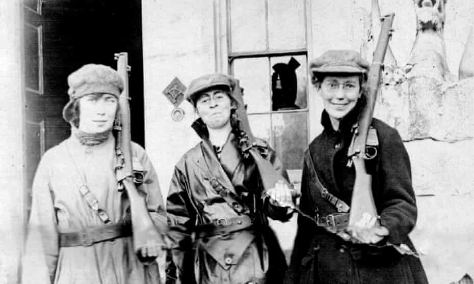Women at an IRA training camp