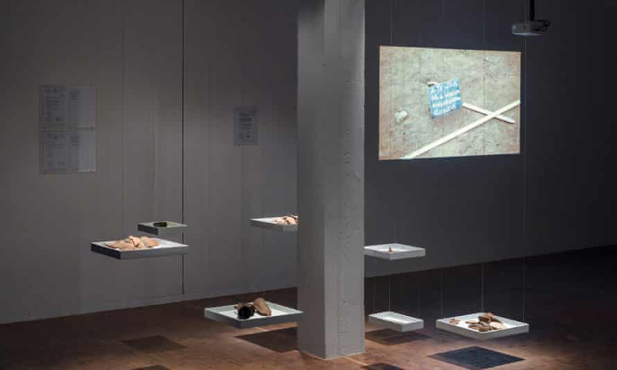 Unearthed … Thierry Oussou's Impossible Is Nothing on show at the Akademie der Künste in Berlin.