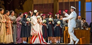 War bride … the new Glyndebourne Butterfly's 50s twist.