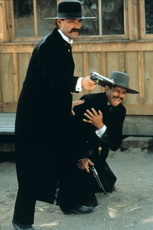 With Kurt Russell. Tombstone -1993