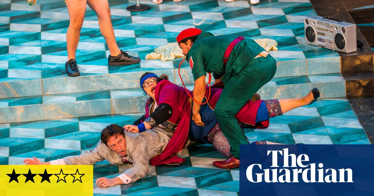 The Comedy of Errors review – a descent into farce