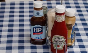 Off the sauce ... HP and other brown sauces are doing badly.