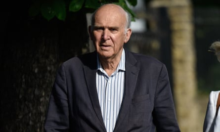 Vince Cable's announcement came within hours of Theresa May's resignation as Tory leader.