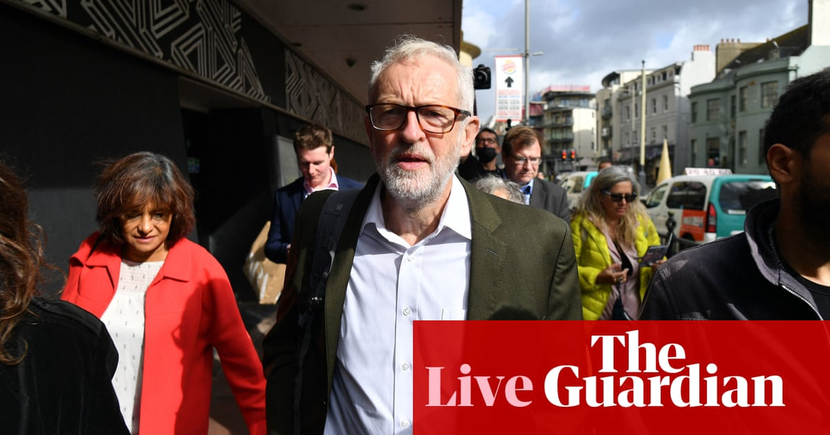 Labour conference: Jeremy Corbyn insists Andy McDonald's resignation not part of anti-Starmer plot – live