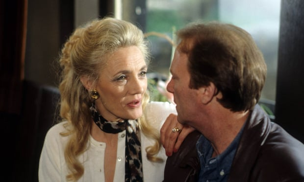Shirley Stelfox with Dennis Waterman in Stay Lucky, 1990.