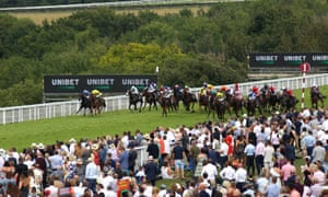 Khaadem and Jim Crowley win the Stewards Cup