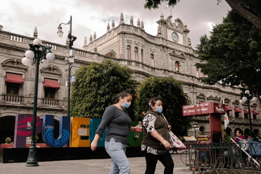 Puebla is the fifth state with more than 15,000 confirmed cases.