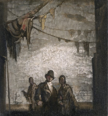 Rag Alley, undated, by James Pryde.