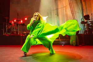 Roisin Murphy performing at the Brixton Academy in London.